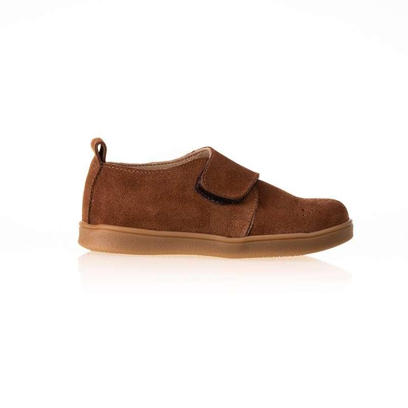 Taba Süet Cırtlı Sneaker