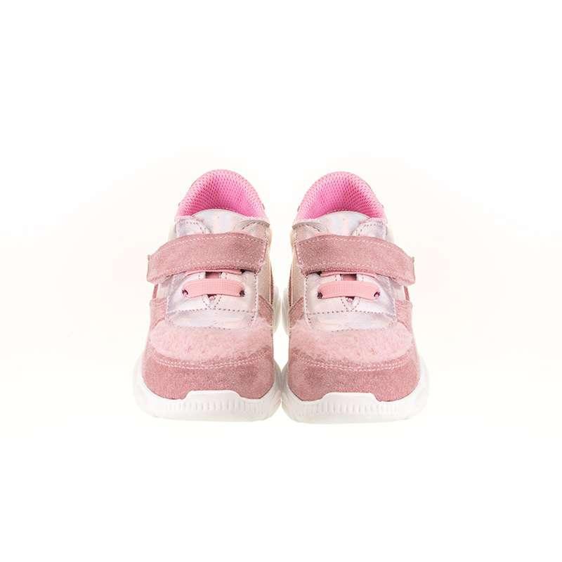 Pembe Kürklü Sneaker