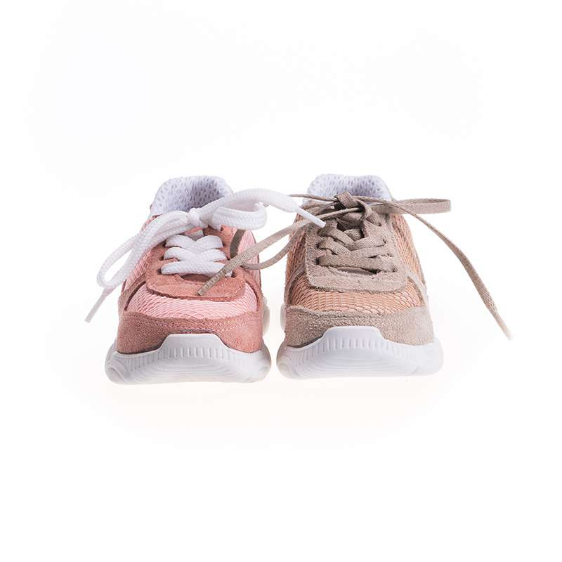 Krem Süet Sneaker