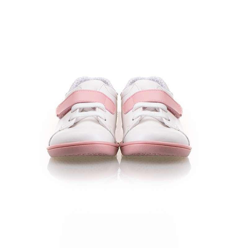 Beyaz Cırtlı Sneaker