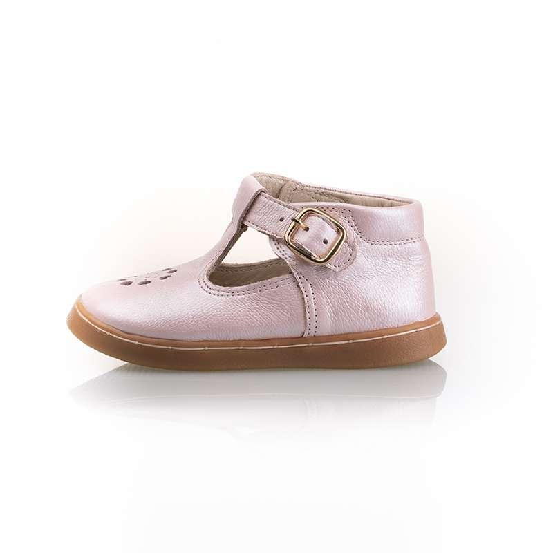 Sedefli Pembe İlk Adım Ayakkabısı