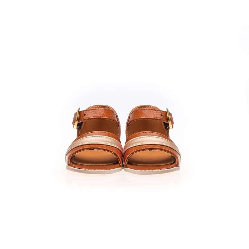 Taba Deri Kız Sandaleti