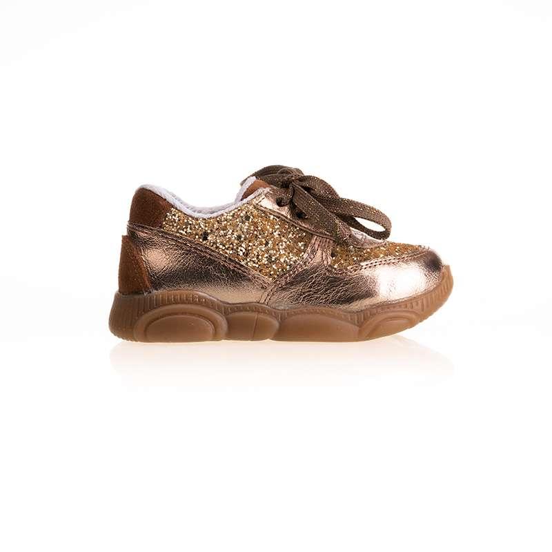 Bronz Pullu Sneaker
